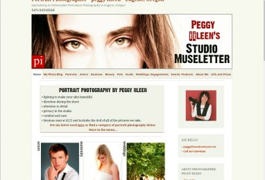 EugenePhotographer Website by Coppertree House