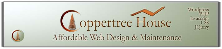 Coppertree House Web Design
