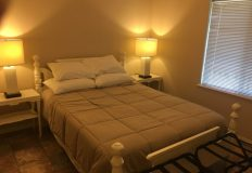 2nd Bedroom – Queen Bed & Television
