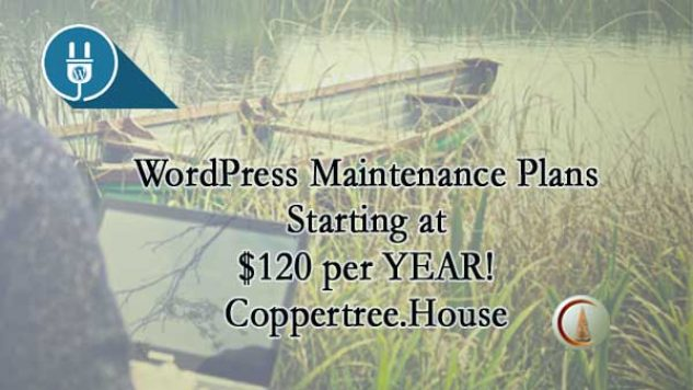 WordPress Maintenance Plans