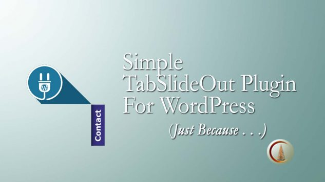 Simple Tab-Slide WordPress Plugin